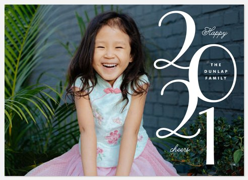 New Beginnings Holiday Photo Cards