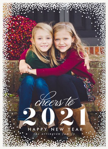 Celebrate Boldly Personalized Holiday Cards