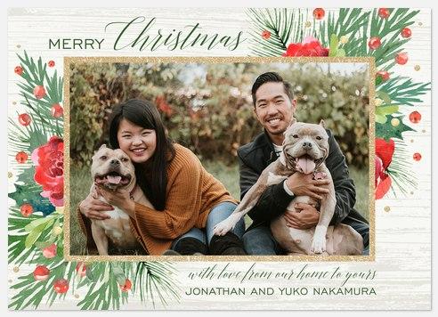 Woodland Potpourri Holiday Photo Cards