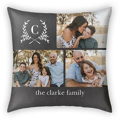 Merriest Laurels Custom Pillows