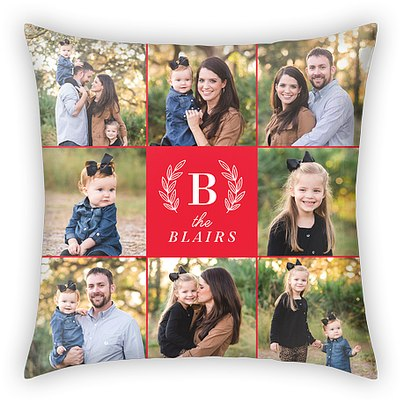Holiday Medley Custom Pillows