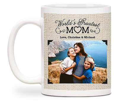 World's Greatest Mom Custom Mugs