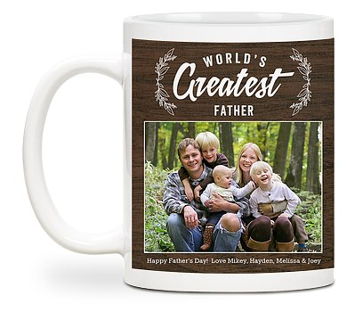 World's Greatest Father Custom Mugs