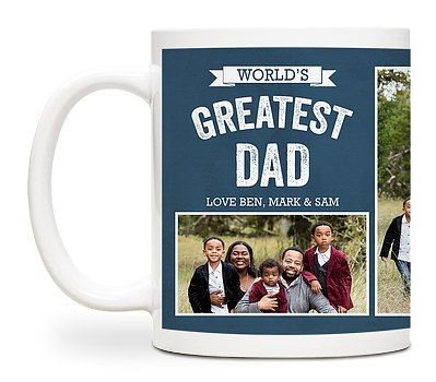 A Father's Greatness Custom Mugs
