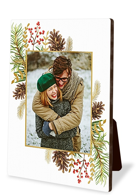 Pine Potpourri Photo Easel Panels