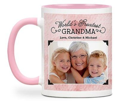 World's Greatest Grandma Custom Mugs