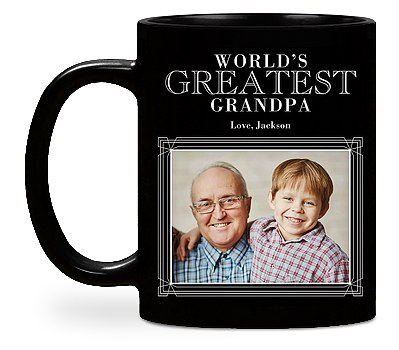 World's Greatest Grandpa Custom Mugs