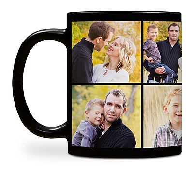 Eight Photo Custom Mugs