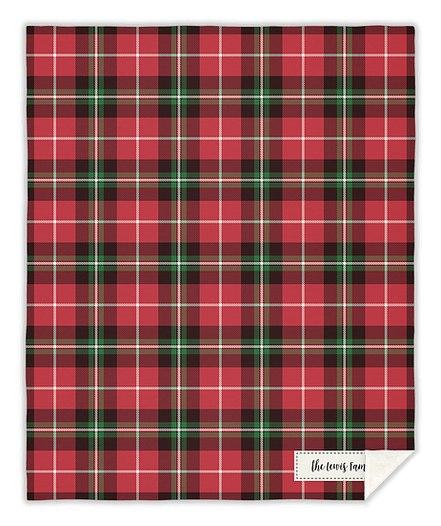 Classic Tartan Custom Blankets