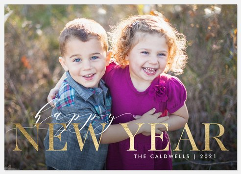 Dazzled Greetings Holiday Photo Cards