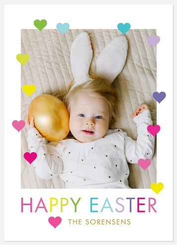 All the Hearts Easter Photo Cards