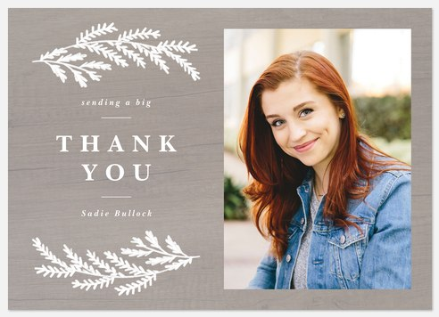 Chalk Branches Thank You Cards