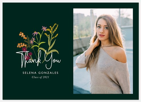 Blooming Thank You Cards