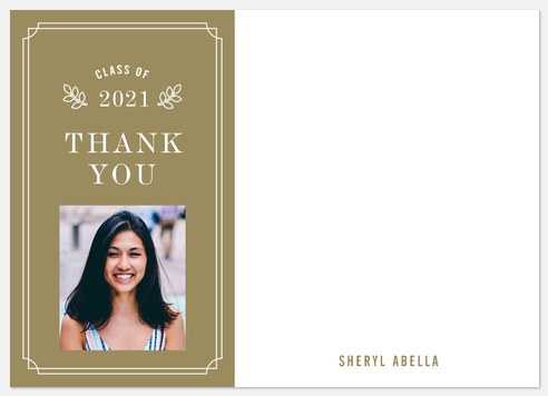 Elegantly Stated Thank You Cards