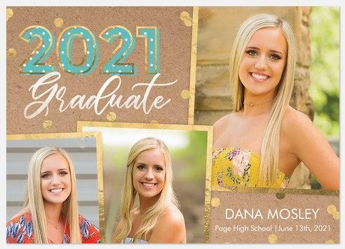 Pop Confetti Graduation Cards