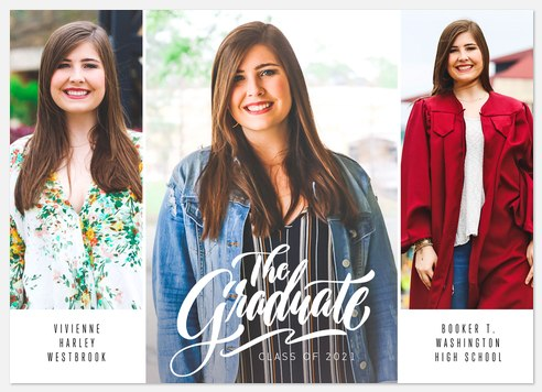 Grad Triptych Graduation Cards