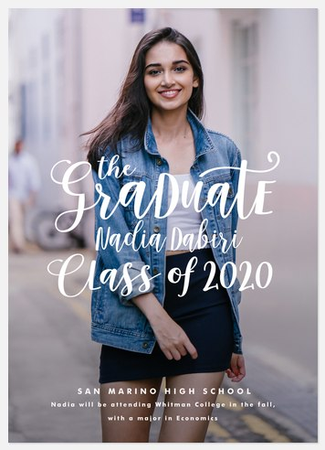 Chic Whimsy Graduation Cards