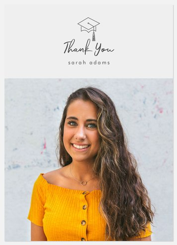 Modern Academic Thank You Cards