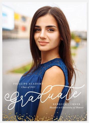 Grand Confetti Graduation Cards