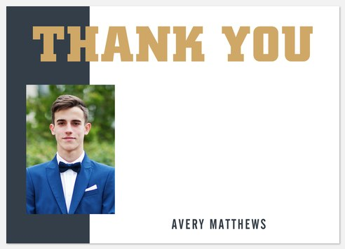 Scholarly Thank You Cards