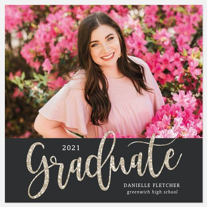 Festive Sparkle Graduation Cards