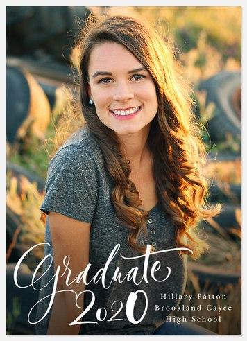 Simply Written Graduation Cards