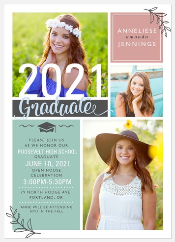 Prep Party Graduation Cards