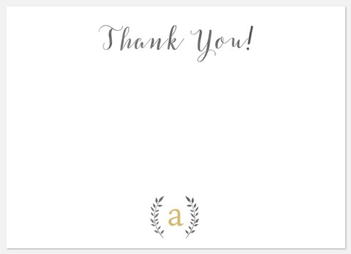 Scripted Gratitude Thank You Cards