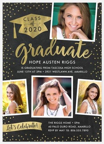 Confetti Gallery Graduation Cards