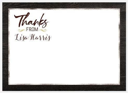 Metallic Mix Thank You Cards