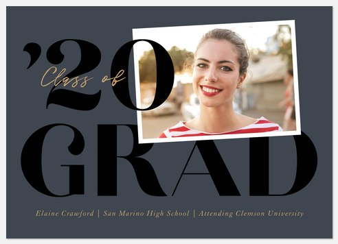 Statement Grad Graduation Cards
