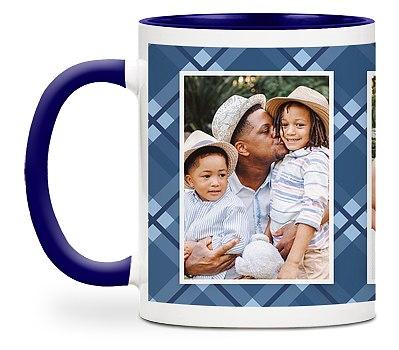 Plaid Papa Custom Mugs