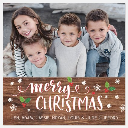 Joyful Icons Holiday Photo Cards