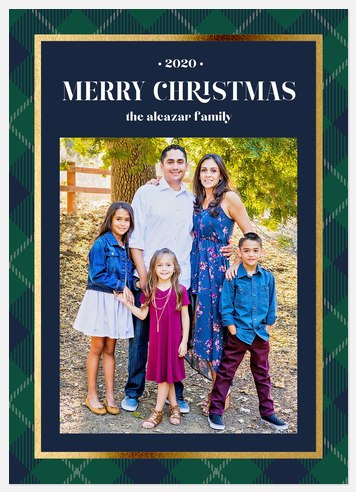 Country Club Holiday Photo Cards
