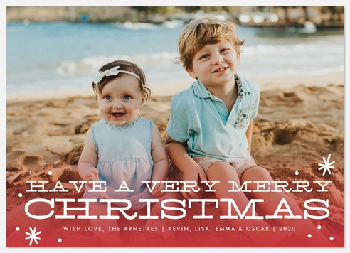 Very Merry Holiday Photo Cards