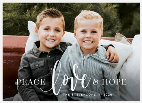 Love & Hope Holiday Photo Cards