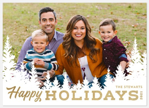 Sierra Pines Holiday Photo Cards