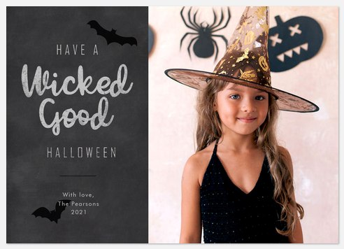 Wicked Good Halloween Photo Cards