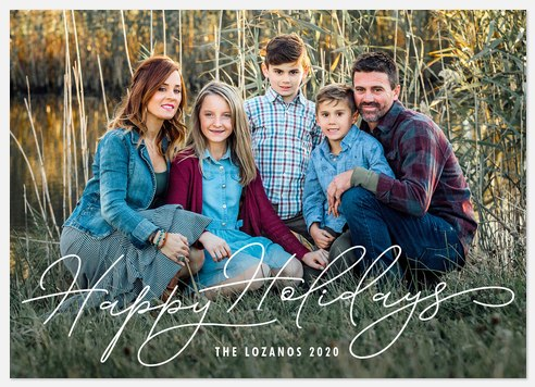Perfectly Charming Holiday Photo Cards
