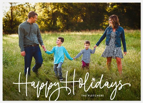 Fun Filled Holiday Photo Cards