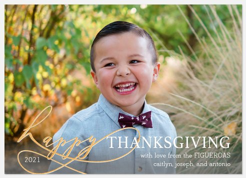Beautifully Happy Thanksgiving Cards