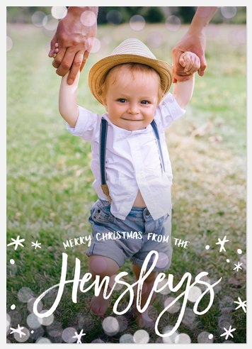 Playful Cheer Holiday Photo Cards