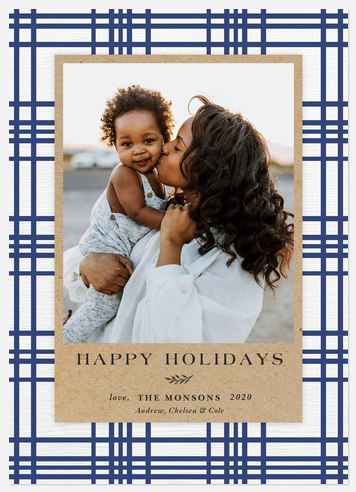 Farmhouse Holiday Photo Cards