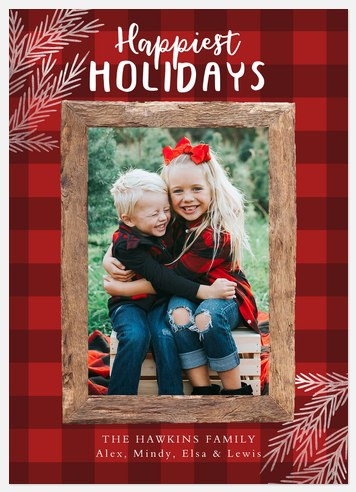 Country Layers Holiday Photo Cards