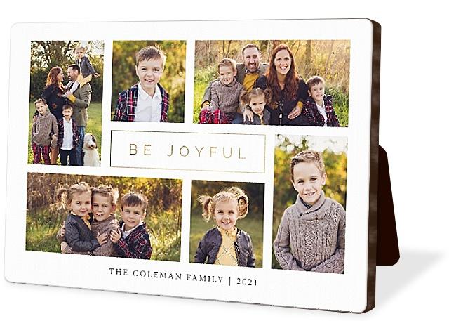 Modern Joy Collage Photo Easel Panels