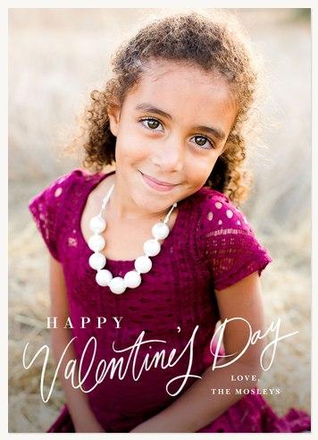 Handwritten Valentine Valentines Cards