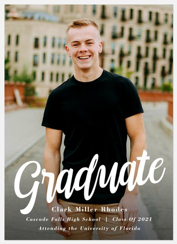 Proud Achievement Graduation Cards