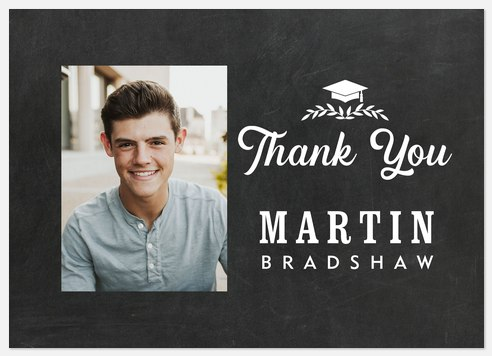 Valient Graduate Thank You Cards