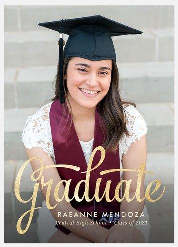 Stylishly Written Graduation Cards