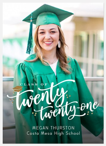 Written Year Graduation Cards